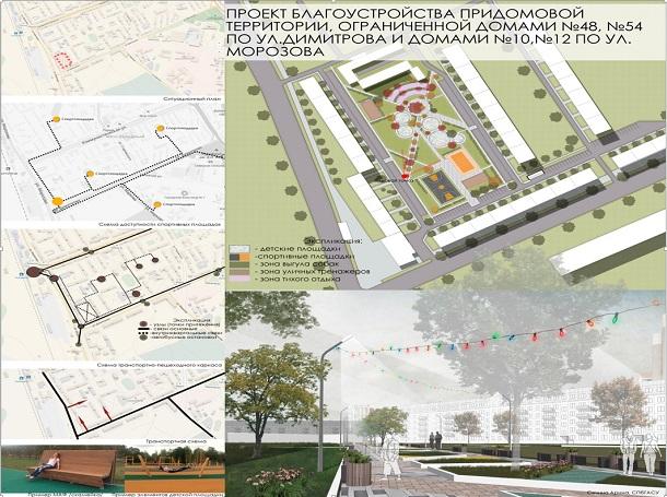 В Сыктывкаре подвели итоги конкурса на лучший проект благоустройства городской территории
